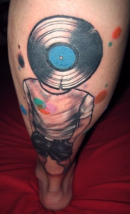 tattoo vinylhead